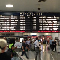 Photo taken at New York Penn Station by Sahil J. on 7/11/2013