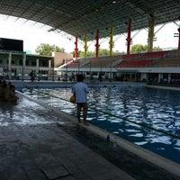 Photo taken at Pusat Akuatik Darul Ehsan (Aquatic Centre) by David K. on 1/27/2013