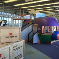 Photo taken at Kids on the Fly, Chicago Children's Museum at O'Hare (ORD) by Julian E. on 8/22/2016