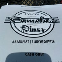 Photo taken at P&G Pamela's Diner by Jonathan H. on 4/27/2013