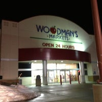 Photo taken at Woodman's Food Market by Libby F. on 1/26/2013