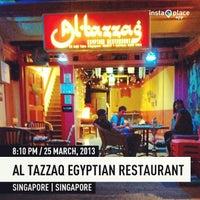 Photo taken at Al-Tazzaq Egyptian Restaurant by Tyler S. on 3/25/2013