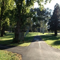 Photo taken at Telopea Park by Alex W. on 4/6/2013