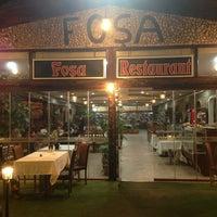 Photo taken at Foşa Restaurant by Yasemin Ç. on 2/24/2013