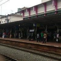 Photo taken at Thrissur Railway Station by Chacko V. on 11/1/2012