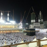 Photo taken at Al Masjid Al Haram by Zeyneb S. on 2/23/2013