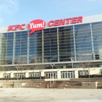 Photo taken at KFC Yum! Center by Jimmy (JayPee) P. on 1/26/2013