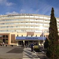 Photo taken at DoubleTree by Hilton Hotel Dublin - Burlington Road by VanAmstel on 10/26/2012