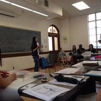 Photo taken at UCLA Rolfe Hall by Tolga C. on 7/15/2014
