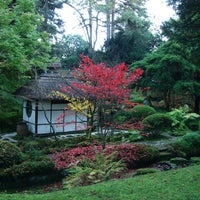 Photo taken at Tatton Park Japanese Garden by Chaudhry I. on 10/21/2012