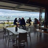 Photo taken at Aristos Waterfront Rottnest Fish Cafe by Ben G. on 10/4/2016