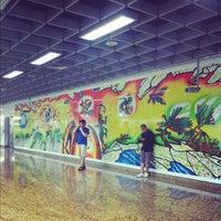 Photo taken at Chinatown MRT Interchange (NE4/DT19) by Meow C. on 9/29/2012