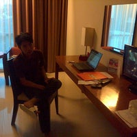 Photo taken at Aston Tanjung City Hotel by Agus R. on 4/18/2013