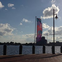 Photo taken at Town Point Park by Erin G. on 7/4/2013