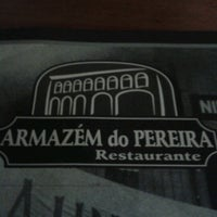 Photo taken at Armazém do Pereira by Diego R. on 2/28/2013