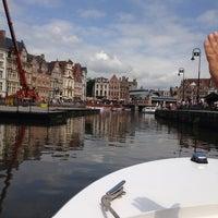 Photo taken at De Bootjes van Gent   Rederij Dewaele by Anke D. on 7/10/2013
