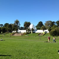 Photo taken at Golden Gate Park by Lulu C. on 10/27/2012