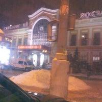 Photo taken at Стоянка Савёловский Вокзал by Makaron on 1/16/2013