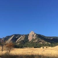 Photo taken at Colorado Chautauqua National Historic Landmark by Jackie N. on 10/22/2016