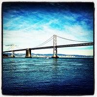 Photo taken at San Francisco-Oakland Bay Bridge by Brad K. on 1/28/2013
