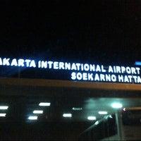 Photo taken at Soekarno-Hatta International Airport (CGK) by Adv. Danies on 6/28/2013