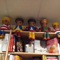 Photo taken at Libreria Punto E Virgola by Massimo P. on 7/18/2013