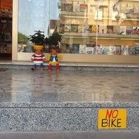 Photo taken at Libreria Punto E Virgola by Massimo P. on 6/23/2013