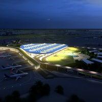 Photo taken at Chhatrapati Shivaji International Airport (BOM) by Raju S. on 1/27/2013