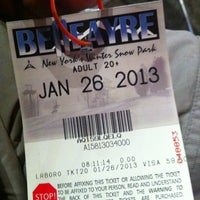 Photo taken at Belleayre Mountain Ski Center by Christine R. on 1/26/2013