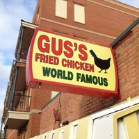 Photo taken at Gus's World Famous Hot & Spicy Fried Chicken by Nick K. on 3/18/2013