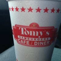 Photo taken at Tomy's Hamburgers by Randy T. on 4/9/2013