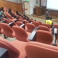 Photo taken at Kompleks Dewan Kuliah Fakulti Sains by Azizul N. on 3/30/2014