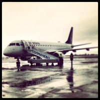 Photo taken at Tolmachevo International Airport (OVB) by Alexey G. on 3/3/2013