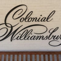 Photo taken at Colonial Williamsburg Regional Visitor Center by Keith P. on 3/9/2013