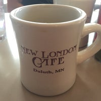 Photo taken at New London Cafe by Dave S. on 7/17/2016