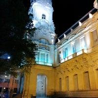 Photo taken at Plaza Rivadavia by Hernán R. on 2/7/2014