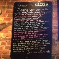 Photo taken at Geckos by Leah on 9/12/2013