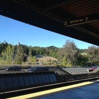 Photo taken at Lafayette BART Station by Bry B. on 4/10/2013