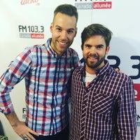 Photo taken at FM 103,3 La Radio Allumée by Simon R. on 9/23/2016