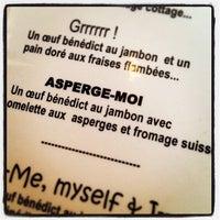 Photo taken at Restaurant Dans La Bouche by Simon R. on 6/6/2013
