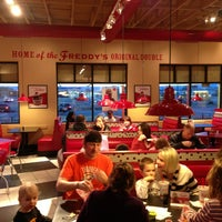 Photo taken at Freddy's Frozen Custard & Steakburgers by Kirk B. on 1/25/2013