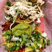 Photo taken at Los Tacos by RTWgirl A. on 3/19/2013