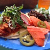 Photo taken at La Taqueria Pinche Taco Shop by RTWgirl A. on 6/27/2013