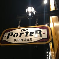 Photo taken at The Porter Beer Bar by Rosanne T. on 2/24/2013
