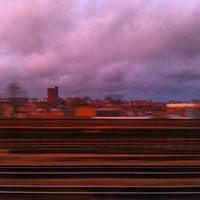 Photo taken at Kilburn London Underground Station by sinister p. on 11/21/2012