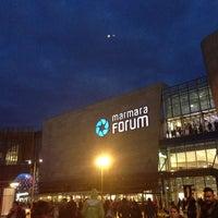 Photo taken at Marmara Forum by Leyla on 10/5/2013