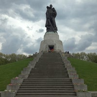Photo taken at Treptower Park by Dmitry D. on 5/11/2013