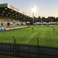 Photo taken at Soevereinstadion | Lommel United by Cédric V. on 9/26/2015