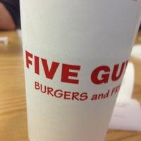 Photo taken at Five Guys by Darren F. on 2/23/2013