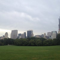 Photo taken at Sheep Meadow - Central Park by Sinan A. on 8/18/2013